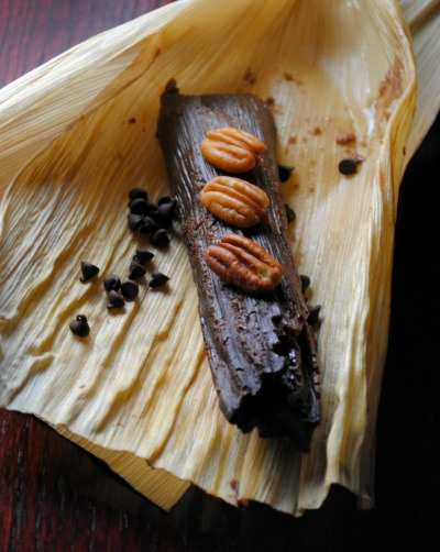 tamales de chocolate y nuez 0021 blog1 Tamales de Chocolate y Nuez sweet treats mexican holiday recipes baked goods