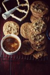 dulce de leche chocolate chip cookies, chocolate chip cookiesss