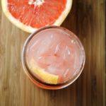 homemade soda, grapefruit soda