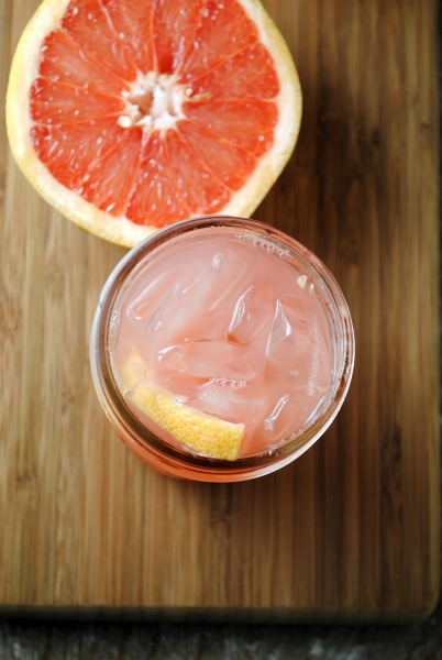 grapefruit soda texas soda Homemade Grapefruit Soda mexican holiday recipes beverages