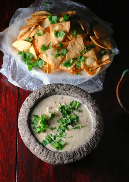 queso Vianney Rodriguez Sweetlifebake 2 Chile Con Queso spicy recipes salsas dips mexican holiday recipes appetizers