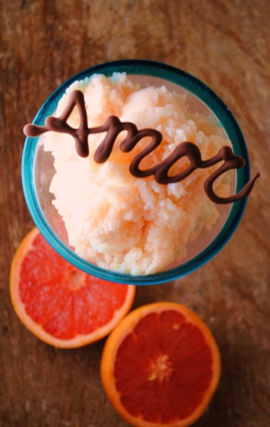 grapefruit buttermilk granita  Grapefruit Buttermilk Granita       granitas
