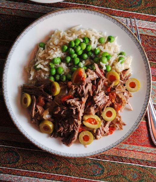 crockpot ropa  vieja sweetlifebake.jpg Crockpot Ropa Vieja  soups stews dinners