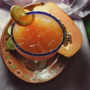 Orange Papaya Margarita
