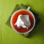 Papaya Jell-O Mimosas