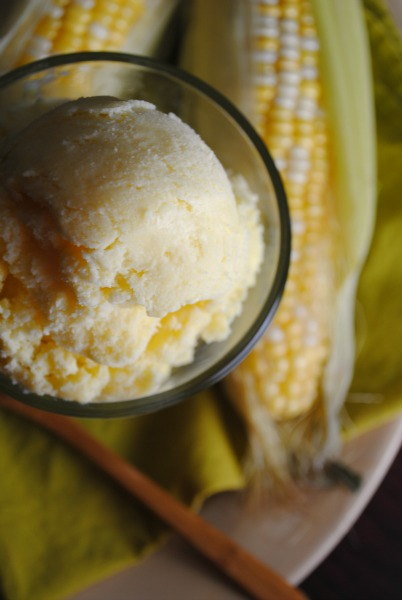 Fresh Meals Delivered >> Sweet Corn Ice Cream