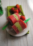 Strawberry Avocado Pops