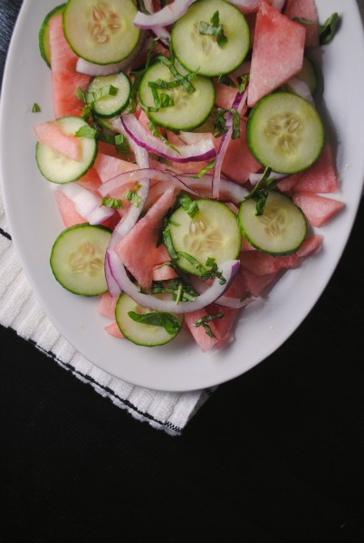 Cooking Light's Watermelon Cucumber Salad