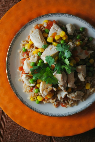 Easy arroz con pollo VianneyRodriguez Quick and Easy Arroz con Pollo uncategorized