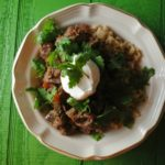 Slow Cooked Tomatillo Beef