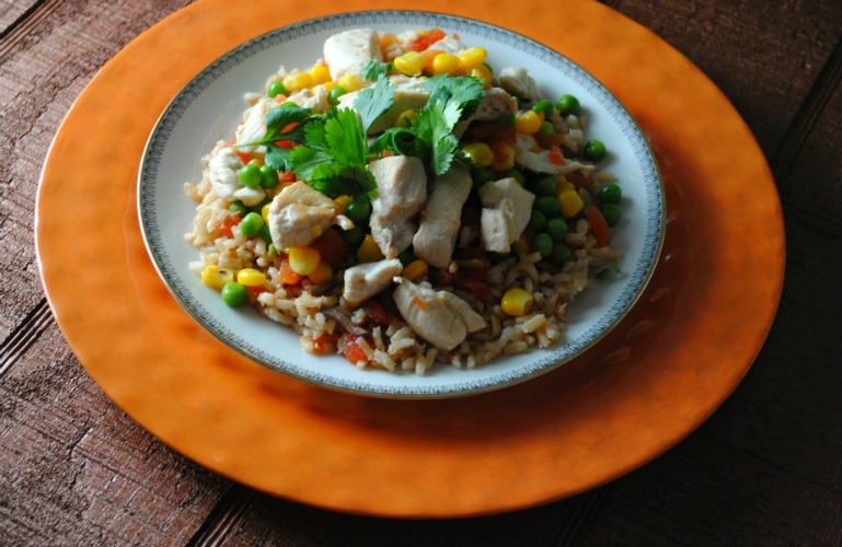 arroz con pollo vianneyrodriguez sweetlifebake Quick and Easy Arroz con Pollo uncategorized