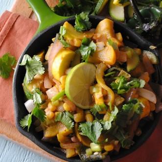 Calabacitas Recipe from Cooking Light