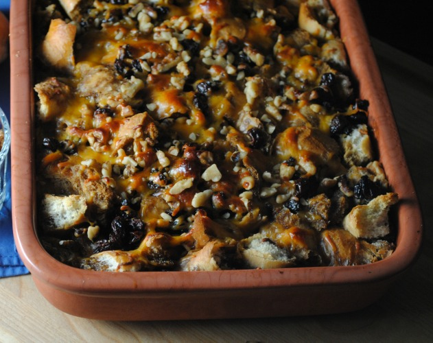 Mexican Bread Pudding - Capirotada