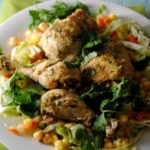 Crock Pot Chicken Verde-  Pollo Verde en el Crock Pot