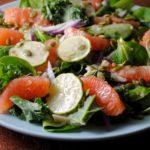 Grapefruit and Hearts of Palm Salad recipe from sweetlifebake.com
