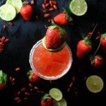 Spicy Strawberry Margarita from sweetlifebake.com