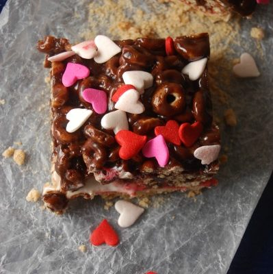 Chocolate Cereal Marshmallow Bars – Barras de Cereal y Malvaviscos con Chocolate