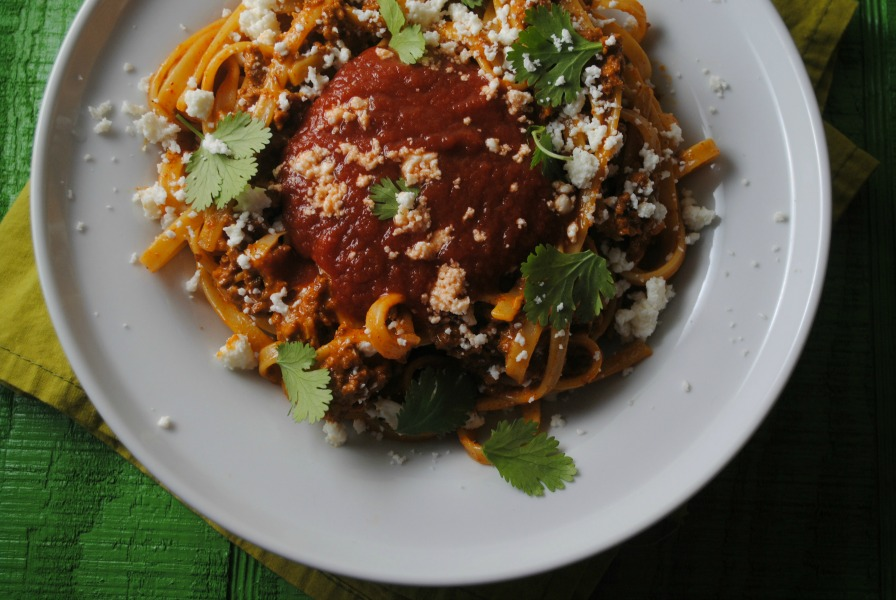 Fettuccine Carbonara recipe VianenyRodriguez Mexican Fettucine Cabonara mexican main dishes dinners