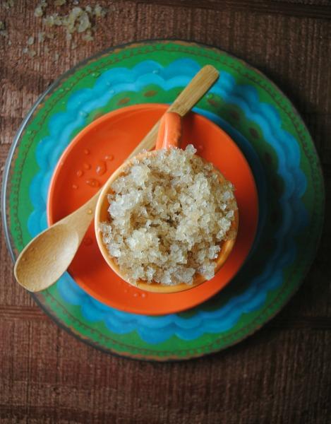Cuba Libre Granita  recipe from sweetlifebake.com