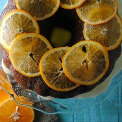 Orange Passionfruit Bundt Cake