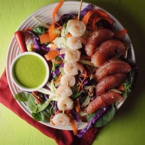 Roasted Shrimp Salad from sweetlifebake.com