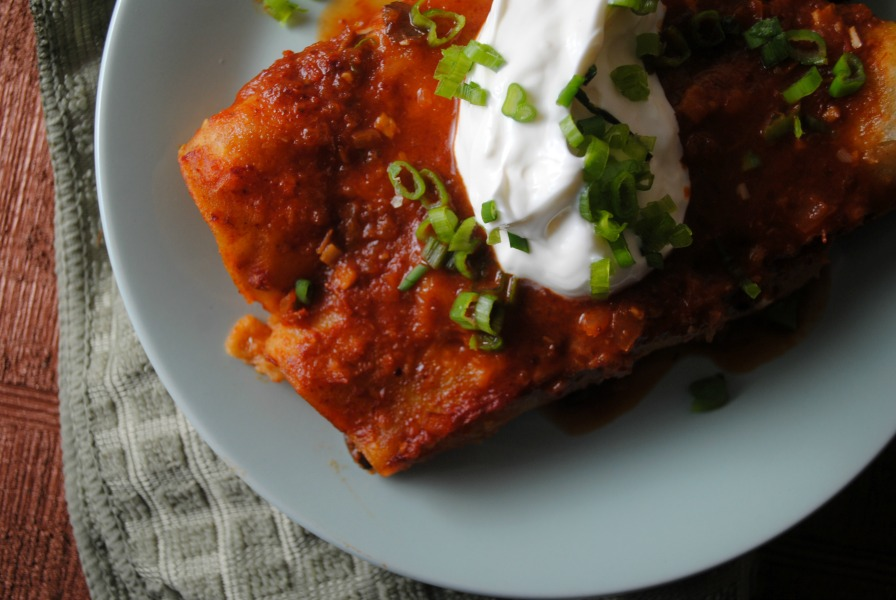 spicy bean enchiladas VianneyRodriguez Black Bean and Cheese Enchiladas with Ranchero Sauce spicy recipes mexican main dishes lenten recipes holiday recipes dinners