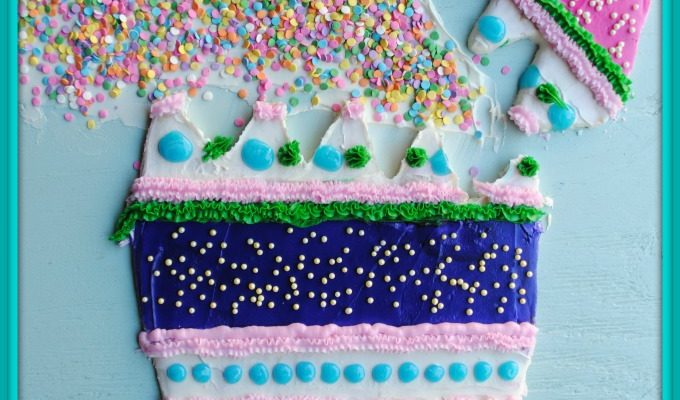Cascarones! Cascarone Sugar Cookie Cake