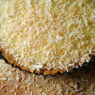 Creamy Coconut Tart