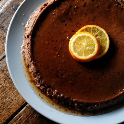 Chocolate-Orange Flan