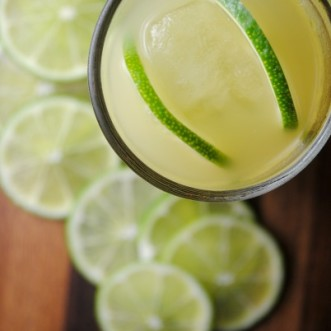 Pineapple-Lime Tequila Cooler