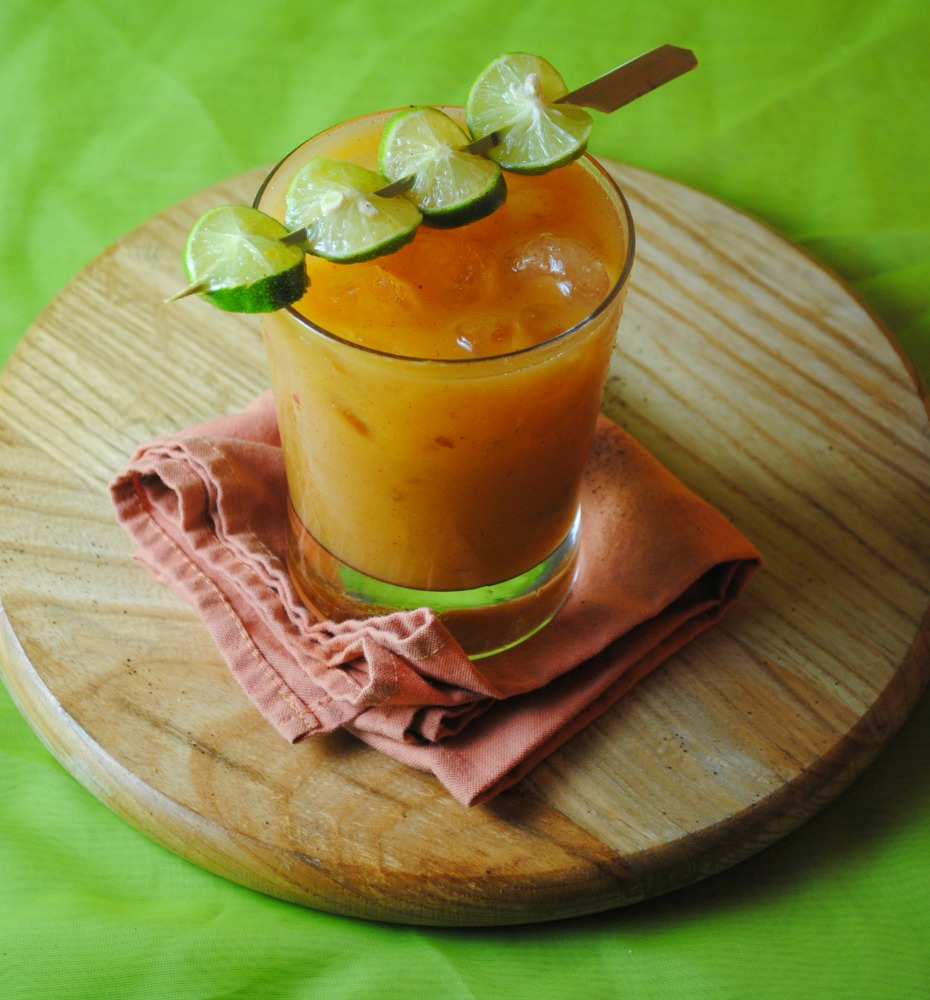 chamoy sunrise VianneyRodriguez Chamoy Mango Sunrise spicy margaritas spicy recipes cocktails