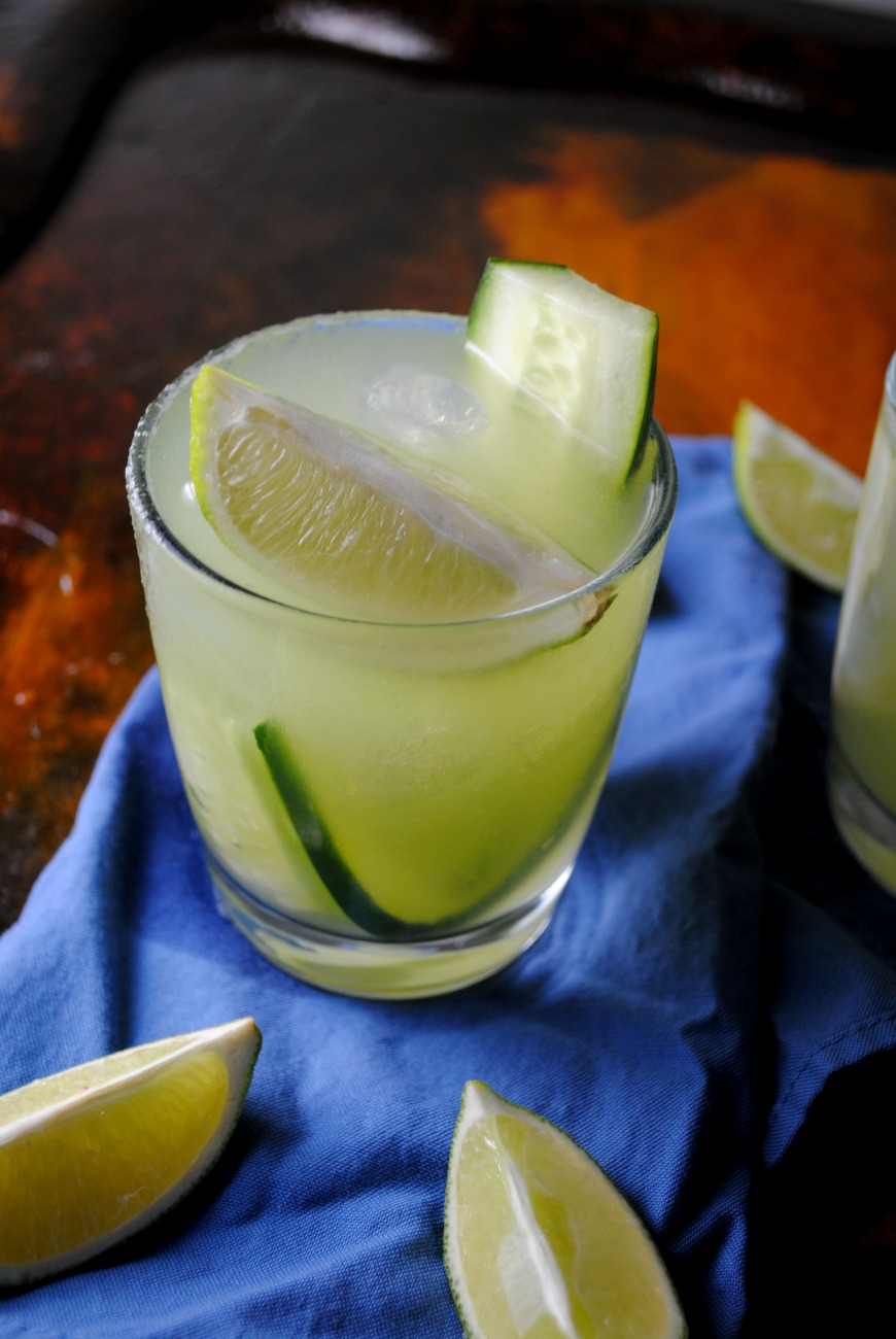 Honeydew-Cucumber Shake With Cucumber Granita Recipe — Dishmaps