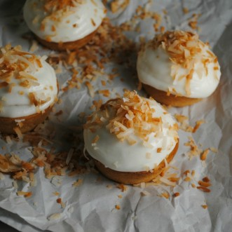 Coconut Horchata Muffins
