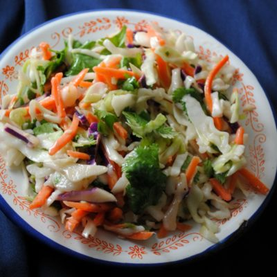 Cumin-Lime Coleslaw