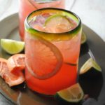 Grapefruit-Cranberry Tequila Cooler