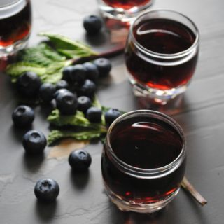Blueberry Mint Infused Tequila