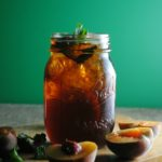 Peach Bourbon Sweet Tea