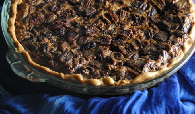 Piloncillo Candied Pecan Pie