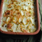 Roasted Poblano Scalloped Potatoes