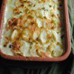 Roasted Poblano Scalloped Potatoes