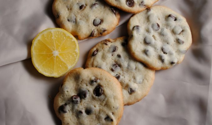 Valley Lemon Chocolate Chip Cookies