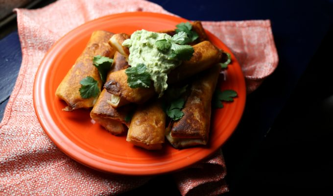 Chicken Ranchero Chimichangas