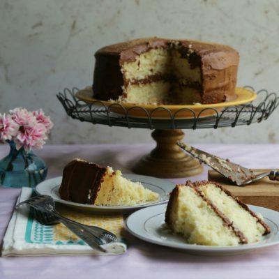 Chocolate Churro Cake