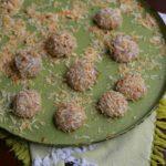 Coconut Hibiscus Truffles