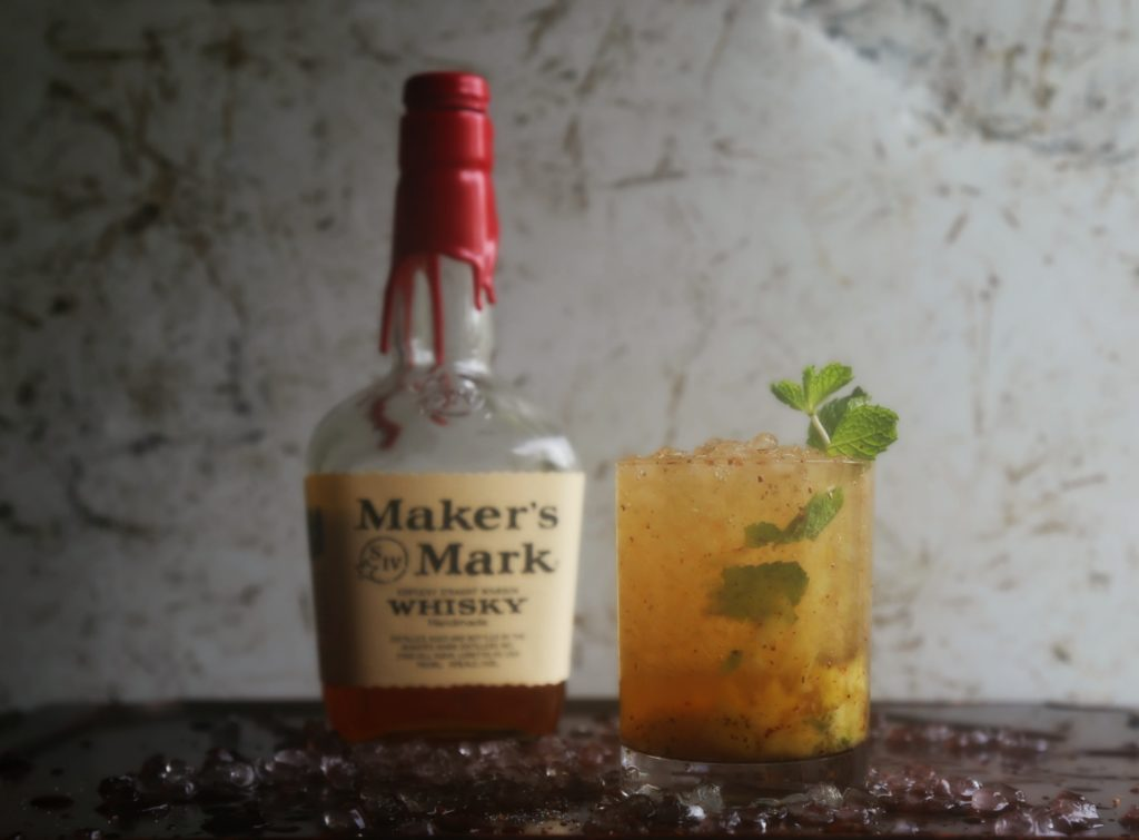 Mango Chile Mint Julep Cocktail Recipe - Sweet Life