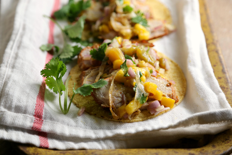 pork tenderloin sweet and fiery pork tenderloin with mango salsa