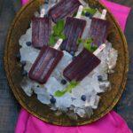 Berry-Mint Margarita Paletas