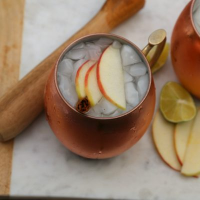 Apple-Cinnamon Moscow Mule