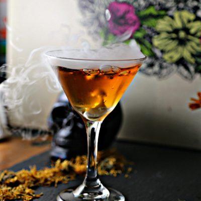 Dia de los Muertos Martini (Marigold Martini)