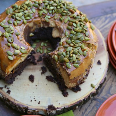Pumpkin Chocoflan